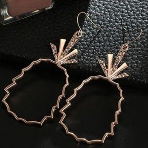 Jewelry - Crystal Pineapple Earrings
